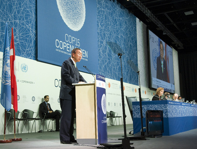 Secretary-General Addresses High-level UN Conference on Climate Change