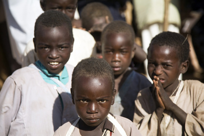 Children at Abu Shouk IDP Camp, North Darfur