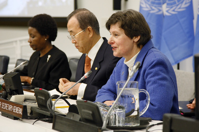 UN Management Head Addresses Town Hall Meeting with UN Staff