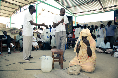 "Sudanese Prison Drama Group Performs on Theme ""Violence against Women"""
