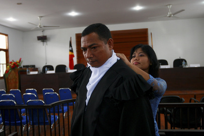 Timorese Judges Prepare for Swearing-in Ceremony