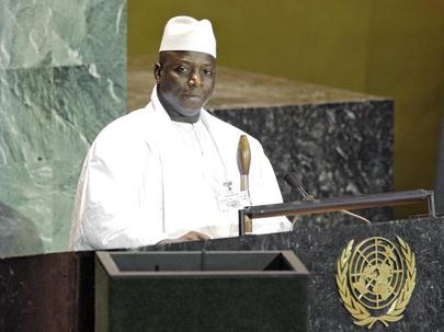 His Excellency Al Hadji Yahya Jammeh, President of the Republic of the Gambia