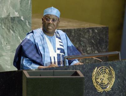 His Excellency Alhaji Aliu Mahama, Vice-President of the Republic of Ghana