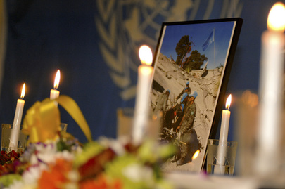 UNMIT Holds Memorial for Fallen UN Haiti Staff