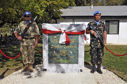 UNDOF Camp Command Goes to Philippine Battalion
