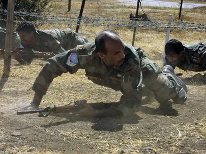 Battalian Competition at UNDOF Camp