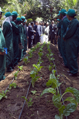 Secretary-General Visits BioFarm in Ethiopia