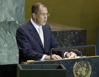 His Excellency, Mr. Sergey Lavrov, Minister for Foreign Affairs