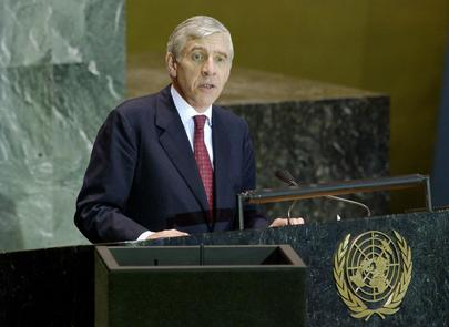 His Excellency, The Right Honourable Jack Straw, MP, Secretary of State for Foreign and Commonwealth Affairs