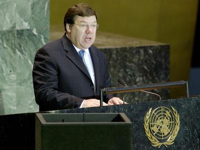 His Excellency, Mr. Brian Cowen, Minister for Foreign Affairs