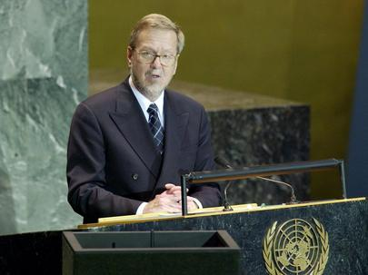 His Excellency, Dr. Per Stig Møller, Minister for Foreign Affairs