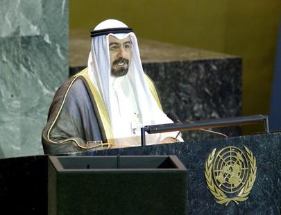 His Excellency, Sheikh Mohammad Sabah Al-Salem Al-Sabah, Minister for Foreign Affairs