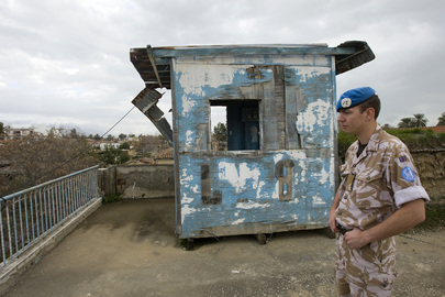Areas in Cyprus UN-Controlled Buffer Zone Untouched Since 1974