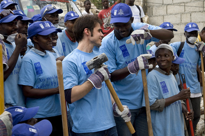 American Idol Winner Visits Haiti