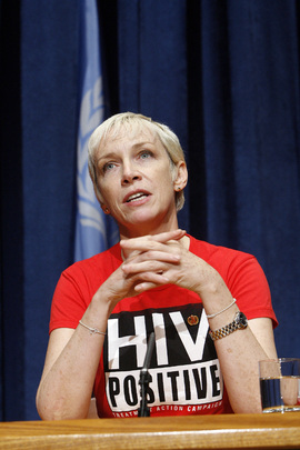 Press Conference by UNAIDS on AIDS and the Needs of Women and Children