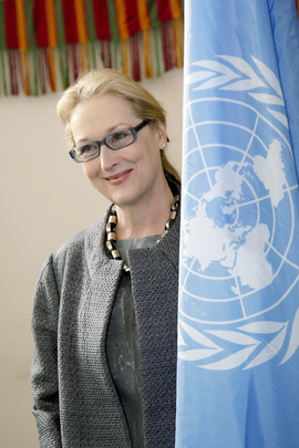 Actress Meryl Streep Attends UN Women's Event