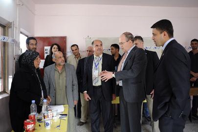 Special Representative for Iraq Meets Iraqi Election Officials