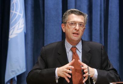Filippo Grandi, Comissário-Geral da Agência das Nações Unidas de Assistência aos Refugiados Palestinos (ONU/Devra Berkowitz)