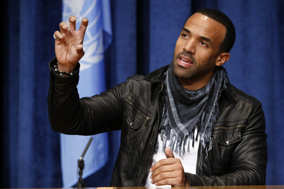 WHO Appoints Craig David as Goodwill Ambassador against Tuberculosis