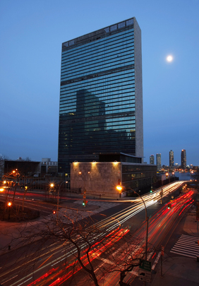 UN Dims Lights for Earth Hour
