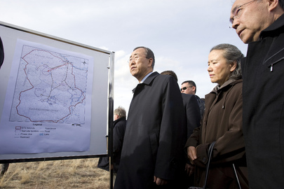 Secretary-General Visits Ground Zero of Kazakh Nuclear Test Site