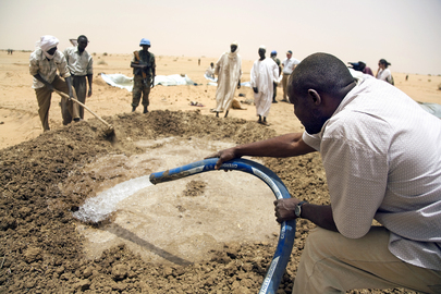 North Darfur Village Builds School for Former Child Soldiers