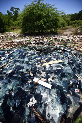 Trash Dumped in Sensitive Area of Timor-Leste