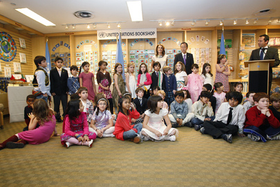 Queen of Jordan Launches Children's Book at UN Headquarters