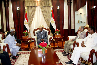 UNAMID Chief Meets President of Sudan