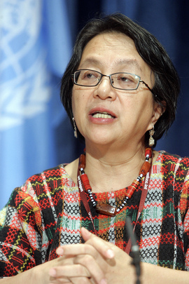 Press Conference on UN Permanent Forum on Indigenous Issues