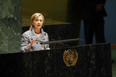 US Secretary of State Speaks at the NPT Conference