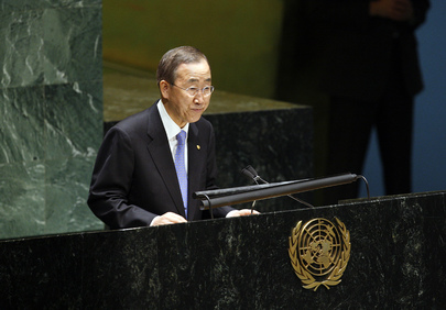 Secretary-General Speaks on Anniversary of End of Second World War