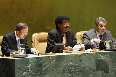 General Assembly Session Marks Anniversary of End of Second World War