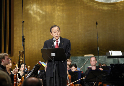 Secretary-General Speaks at WWII Anniversary Concert
