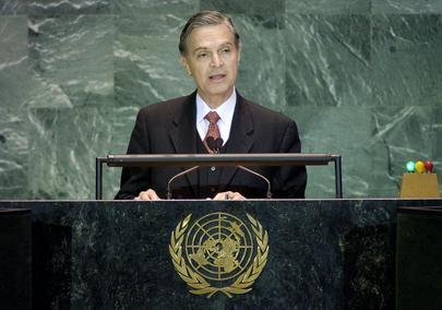 H.E. Mr. Luis Ernesto DERBEZ, Minister for Foreign Affairs
