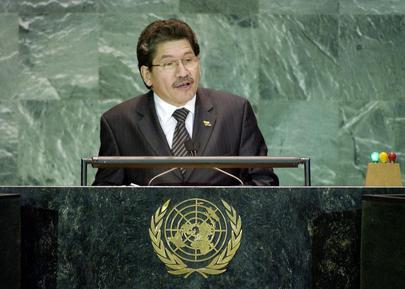 H.E. Mr. Jesús Arnaldo PÉREZ, Minister for Foreign Affairs