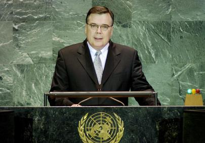 H.E. Mr. Geir HAARDE, Minister for Finance and Acting Minister for Foreign Affairs