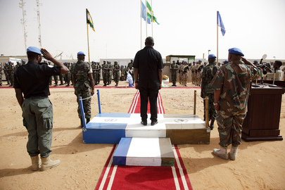 UNAMID Celebrates Peacekeepers Day