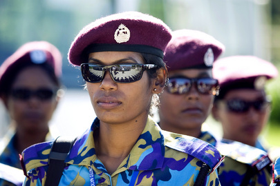 All-Female Bangladeshi Police Unit Arrives in Haiti