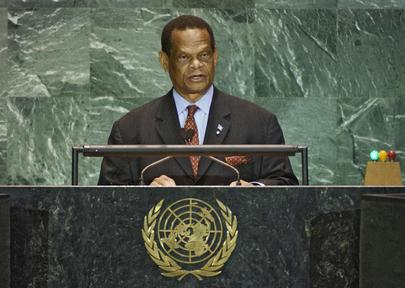 H.E. The Honourable Julian Robert HUNTE, OBE, Minister for Foreign Affairs, International Trade and Civil Aviation