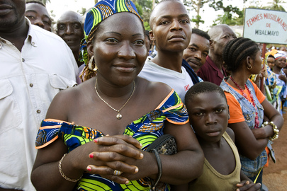 Woman in Mbalmayo, Cameroonian Community Engaged in MDGs