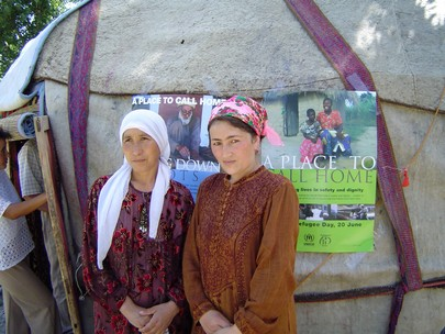 Tajik Refugees Celebrate World Refugee Day