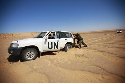MNURSO Monitors Ceasefire in Western Sahara