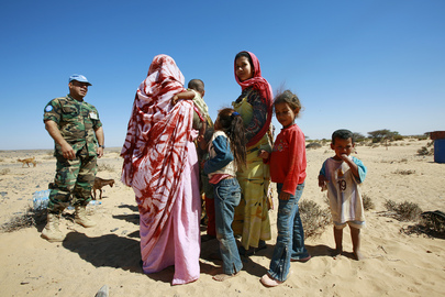 MINURSO Officer Meets Western Sahara Locals