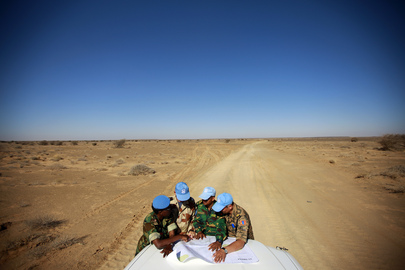 MINURSO Team Navigates through Western Sahara