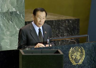 H.E. Mr. Alberto ROMULO, Minister for Foreign Affairs