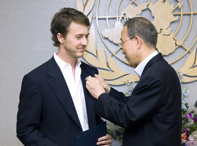 Secretary-General Appoints Actor Ed Norton as Biodiversity Goodwill Ambassador