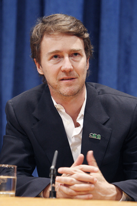 Actor Ed Norton Appointed UN Goodwill Ambassador for Biodiversity
