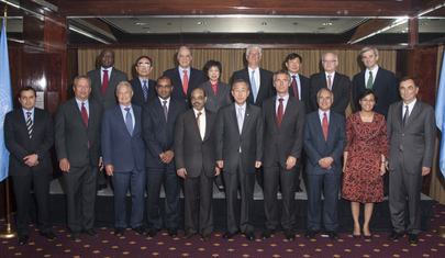 Secretary-General Meets Advisory Group on Climate Change Financing