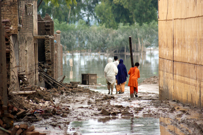 Pakistan Copes with Severe Floods